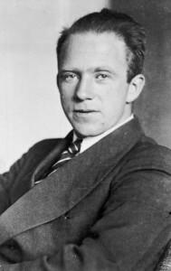 Zentralbild Prof. Dr. phil Werner Kar. Heisenberg, Physiker, geboren 5.12.1901 in Würzburg, Professor für theoretische Physik, Direktor des Max-Planck-Instituts für Physik in Göttingen, Nobelpreis für Physik 1932 (Aufnahme 1933) 39049-33