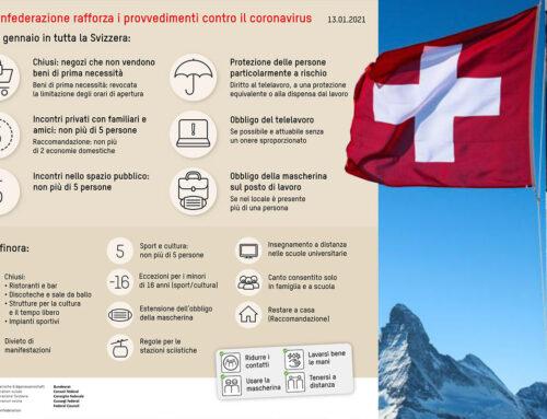 Nuove restrizioni in Svizzera dal 18 gennaio, aumenta la confusione