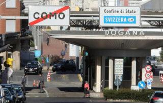 Ticino, regole piu' restrittive alle frontiere con l'Italia