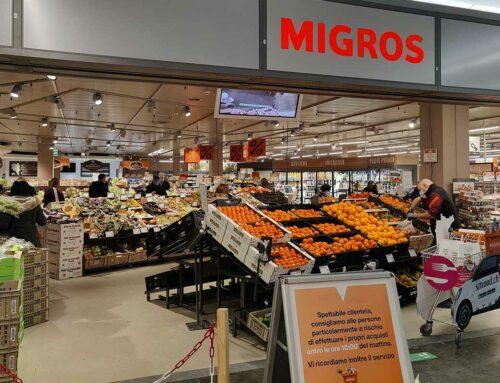 Migros apre un supermercato senza personale, 2020 fatturato record