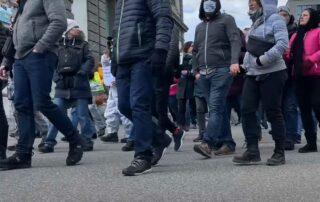 Migliaia ha manifestare contro il governo a Listal - Basilea