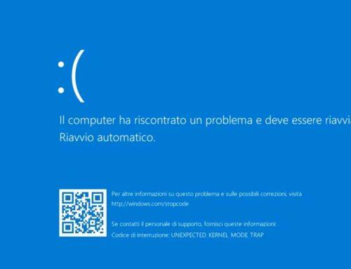 KB5000802 schermata blu lanciando la stampa o aprendo un prodotto Adobe